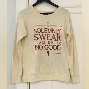 Harry Potter Solemnly Swear reversible shirt
